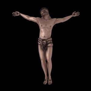 3D model jesus christ crucifixion