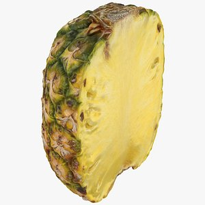Half Pineapple 3D