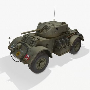 car armoured pbr 3D model