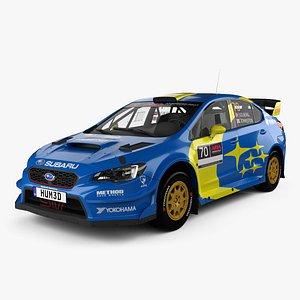 3D Subaru WRX VT20R Rally 2020