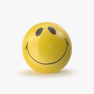 3D Smile Beach Ball Inflatable