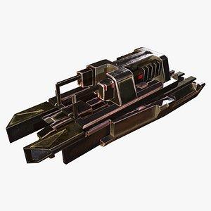 3D engineering module model