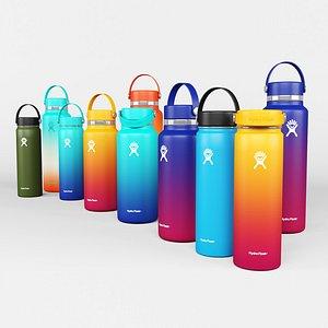 3D Hydro Flask Water Bottle