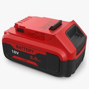 3D Li-Ion Battery for Power Tools model