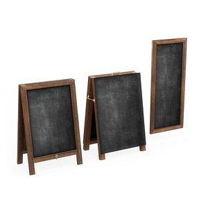 3D menu boards