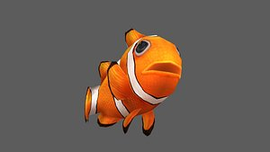 clownfish fish 3D model