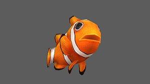 clownfish fish 3D model