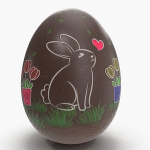 3D easter eggs holiday