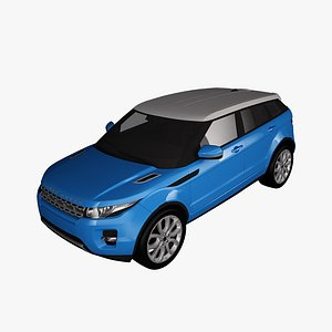 range rover evoque 3D model