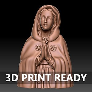 Mother Mary 3D model