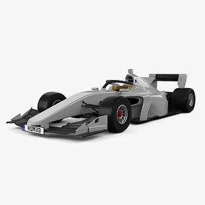 Generic Super Formula One car 2020 model