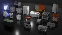 Sci-Fi crates Bundle