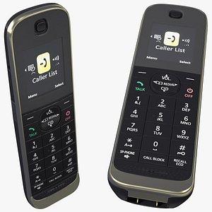 Cordless DECT Landline Home Phone 3D model