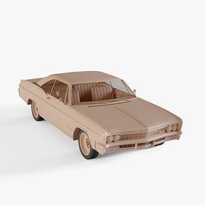 chevrolet impala 3D model
