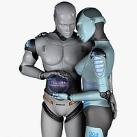 Robot Teal