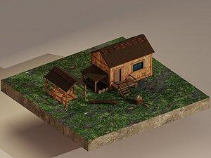 Sawmill Level 1 3D