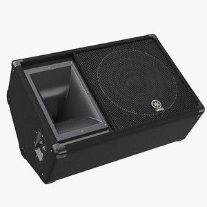 professional speaker yamaha sm12v 3D model