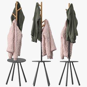 3D Kangleon Coat Rack model