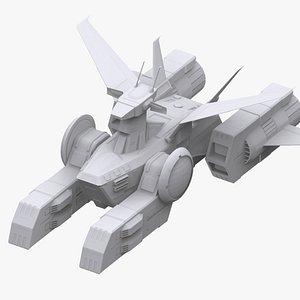 gundam federation whitebase model