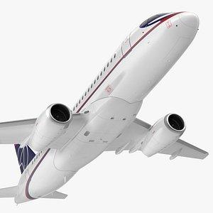 Sukhoi Superjet 100 95lr Flight 3D model