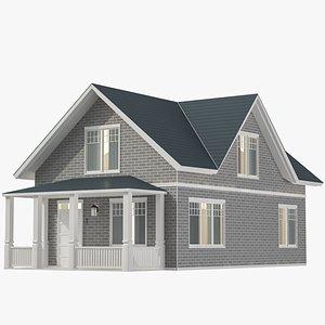 Classic House 06 3D model