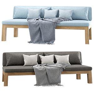 3D niek couch model