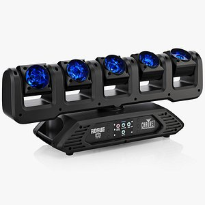 3D model Chauvet Rogue R1 FX B LED Moving Head System