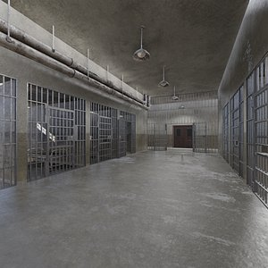 3D cell penitentiary prison