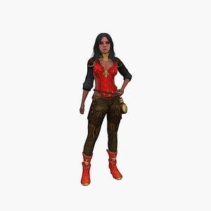 3D model Molly