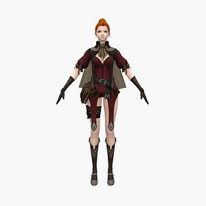 woman warrior model