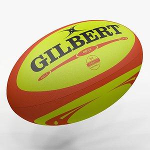 Rugby Ball Gilbert L1476 3D model