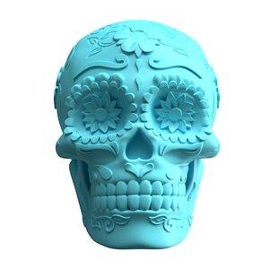 skull sugar mexican model