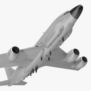 Boeing RC-135 Large Reconnaissance Aircraft Flight 3D model