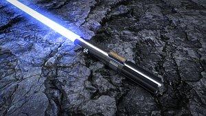3D model Lightsaber Anakin Skywalker