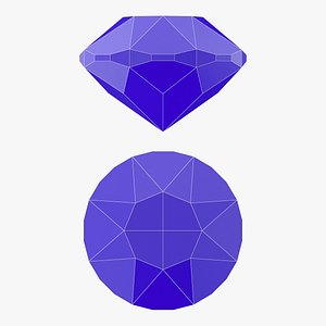 3D Swiss Gemstone - 3D Printable