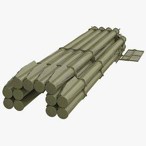 Soviet Heavy Multiple Rocket Launcher Camo model