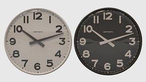 3D clock wall kriptonite model