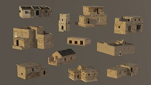 town house east 3D model