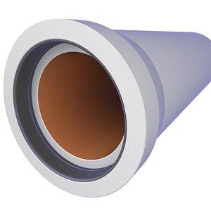 3D Underground Precast Concrete Sewage Pipe 22