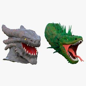 3D elder dragon model