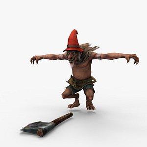 3D Kane goblin