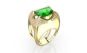 diamond ring 2021-001 3D model