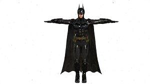 rigged realistic batman 3D