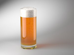 3D model Animated Beer