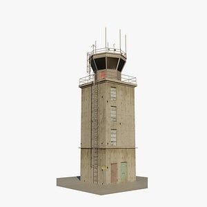3D airport atc tower