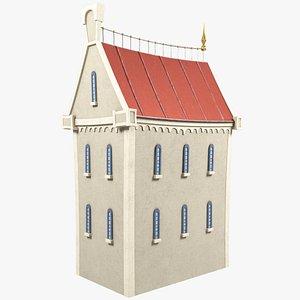 3D stylized old city model