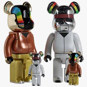 Bearbrick  Daft Punk Discovery 3D