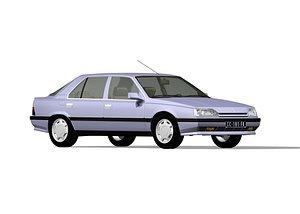 Renault 25 3D model