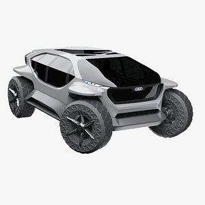 3D audi car model