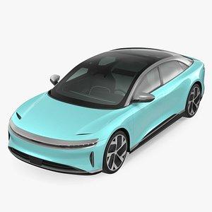 Electric Luxury Sedan 3D model